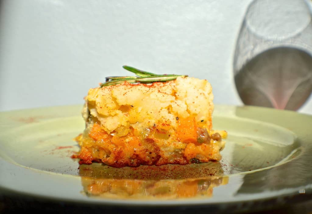 vegan shepherd's pie recipe