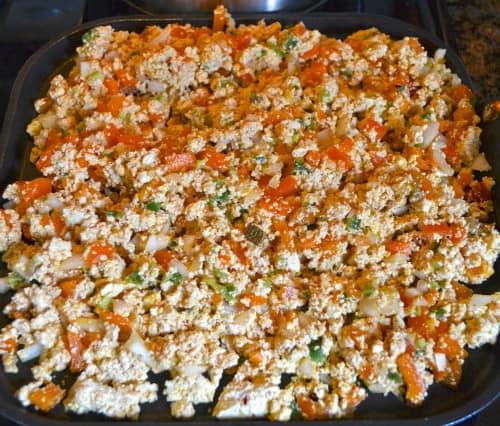 scrambled tofu recipe
