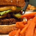 Chicago Diner Veggie Burger by Ashley Gilday