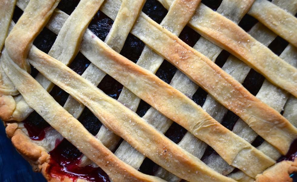 lattice top vegan blackberry pie recipe