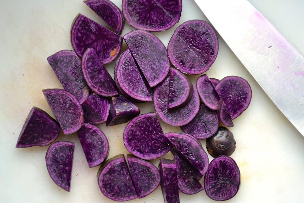 purple breakfast potato recipe