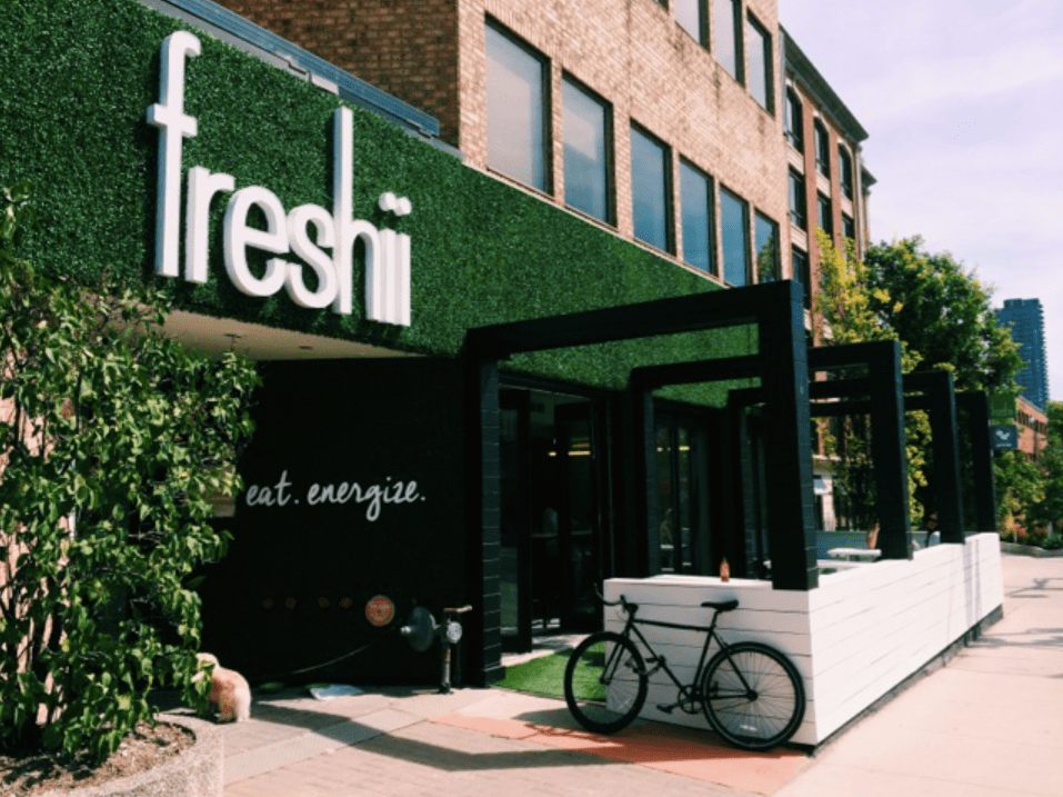 Freshii storefront copy - A food and wellness site by Ashley Gilday